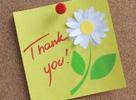 מכתבי תודה והמלצות