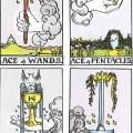 ארבעת האסים של קלפי הטארוט