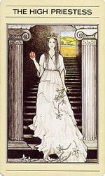 הכוהנת הגדולה בסדרת הקלפים של ליז גרין