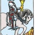 האביר על הסוס הלבן - אביר הגביעים