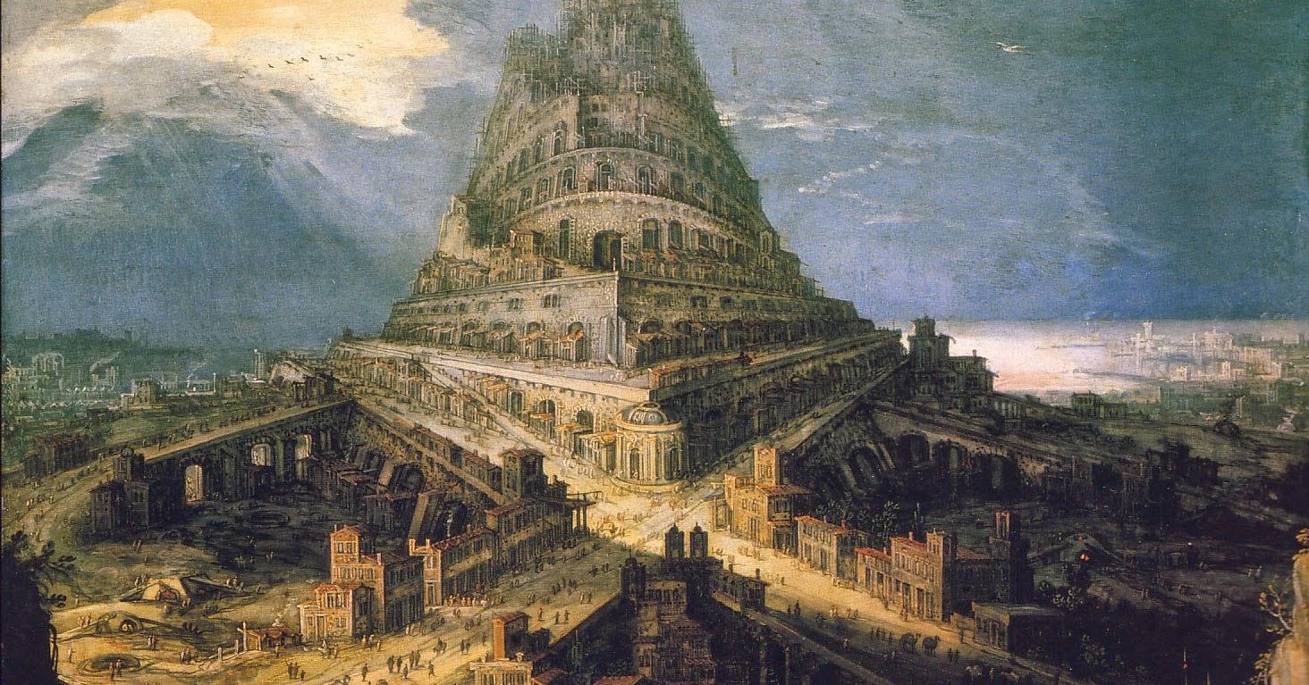 מגדל בבל - Hendrick Van Cleve
