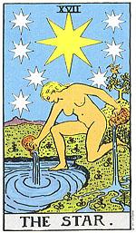 קלף הכוכב בקלפי טארוט